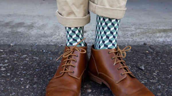 FeedTheMonkey,Dilly Green Dice Socks 2